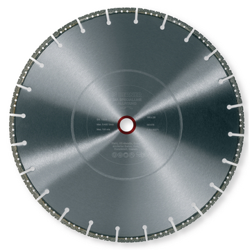 Disque diamant Specialline Top, universel coupe à sec Ø 350x25,4 mm